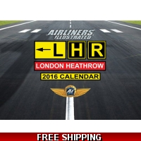 LHR London Heathrow A3 Calendar 2..